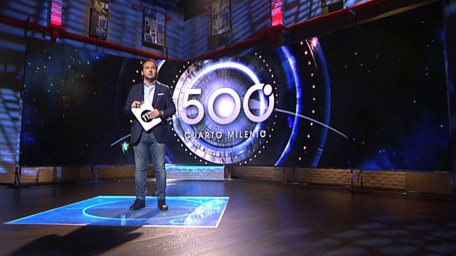 Cuarto milenio celebra sus 500 programas en una instalación ...