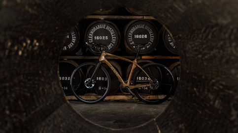 Las barricas de whisky dan para bicicletas