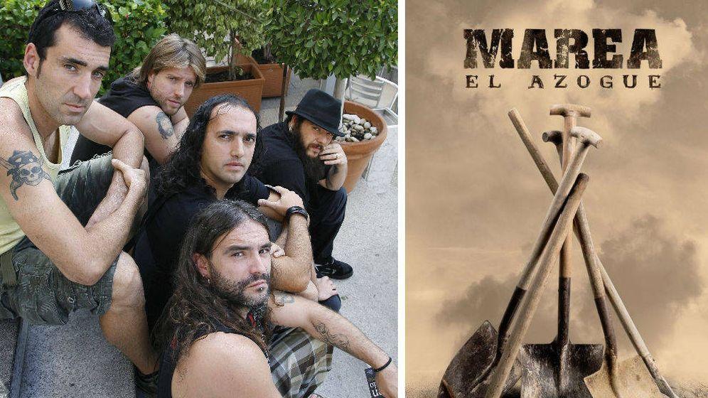 Foto: 'El Azogue', nuevo disco de Marea
