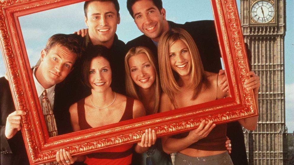 Los protagonistas de 'Friends' viajan al pasado gracias a la magia del Photoshop