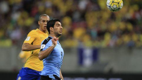Luis Suárez lidera la remontada de Uruguay ante la Brasil de Neymar