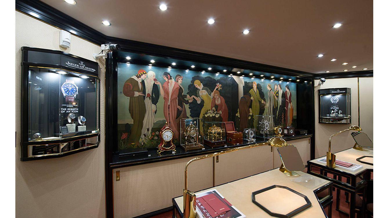 Foto: La exposición combina las piezas históricas de la firma con su nueva colección.