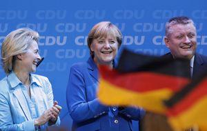 Merkel arrasa: la canciller se queda a un paso de la mayoría absoluta