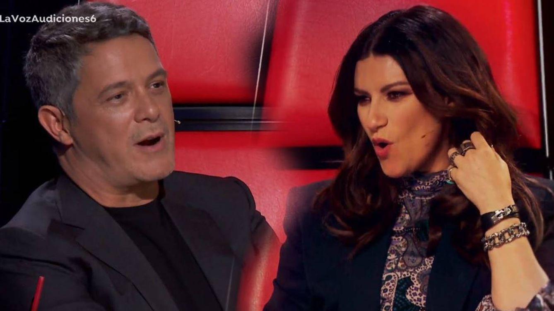 'La voz': el golpe bajo de Alejandro Sanz a Laura Pausini por intentar quitarle un concursante
