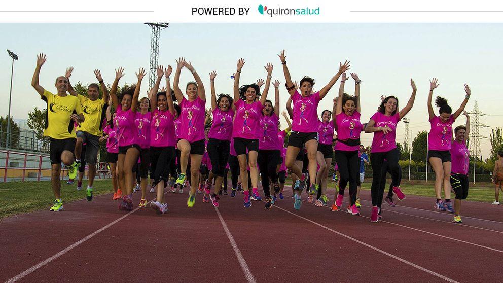 Cuando el 'running' se convierte en terapia contra el cáncer de mama