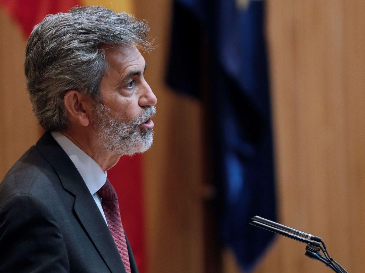Foto: El presidente del CGPJ, Carlos Lesmes. (EFE)
