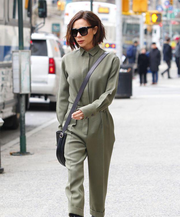 Foto: Victoria Beckham, el pasado martes en Nueva York. (Gtres)