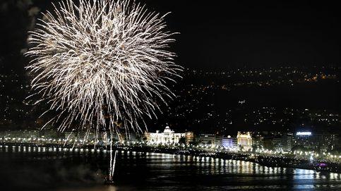 Fuegos artificiales en Niza