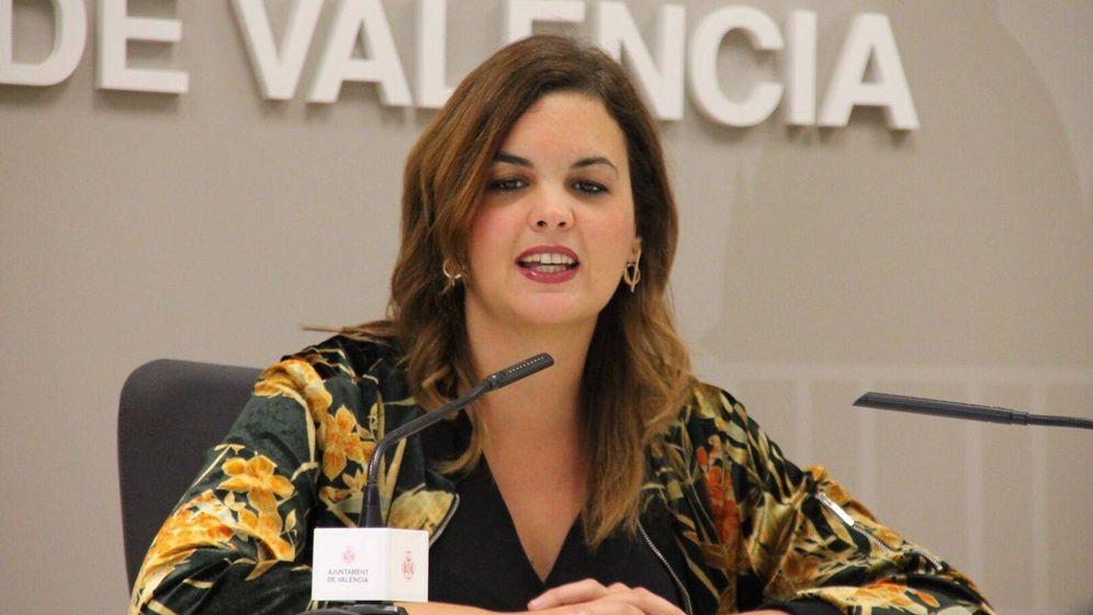 Foto: Sandra Gómez, portavoz del PSPV en el Ayuntamiento de Valencia. (PSPV)
