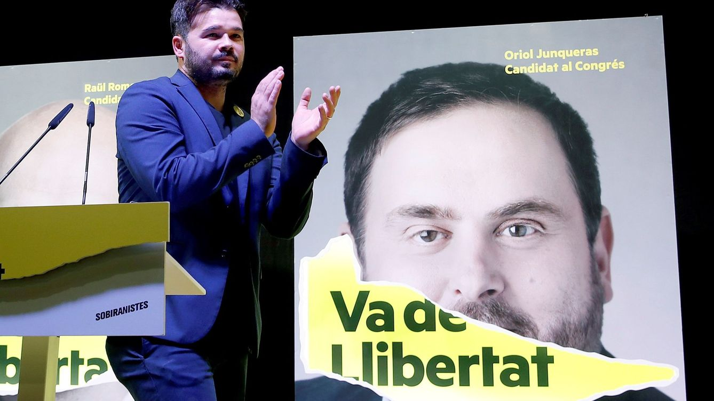 ERC pide un referéndum y levantar las causas judiciales para pactar con Sánchez