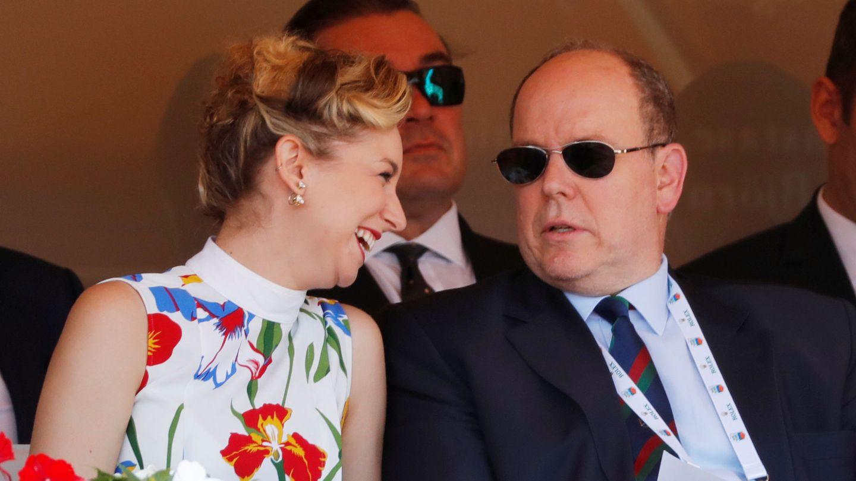 Jazmin Grace junto a Alberto de Mónaco. (Reuters)