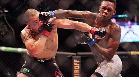 UFC 243: el KO rotundo de Israel Adesanya en la mayor asistencia a un evento