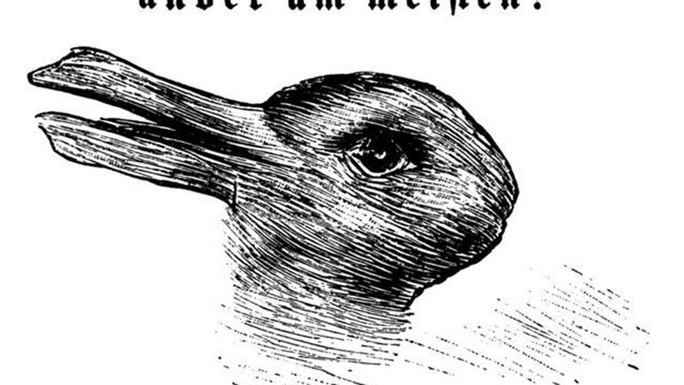 ¿Pato o conejo? Lo que ves en esta ilusión óptica dice mucho de ti