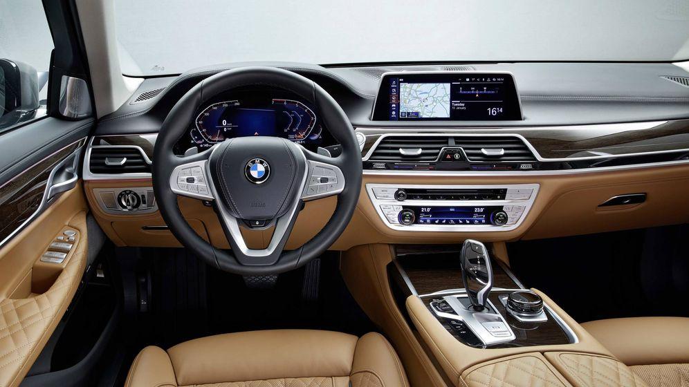 Foto: Conectividad, ayudas a la conducción o servicios son algunos de los pilares básicos de la nueva BMW.
