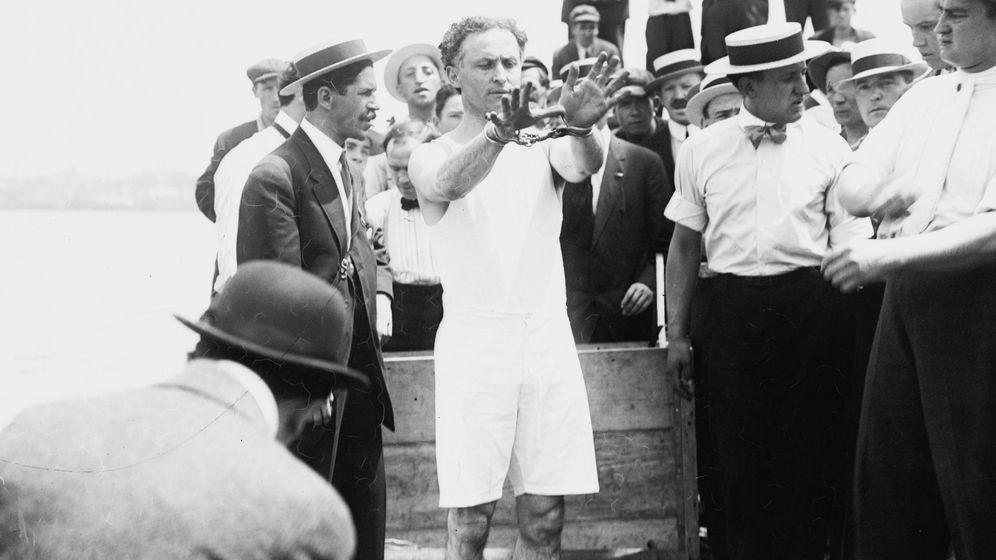 Foto: El maestro del escapismo Harry Houdini nació en Budapest en 1874. (Wikipedia)