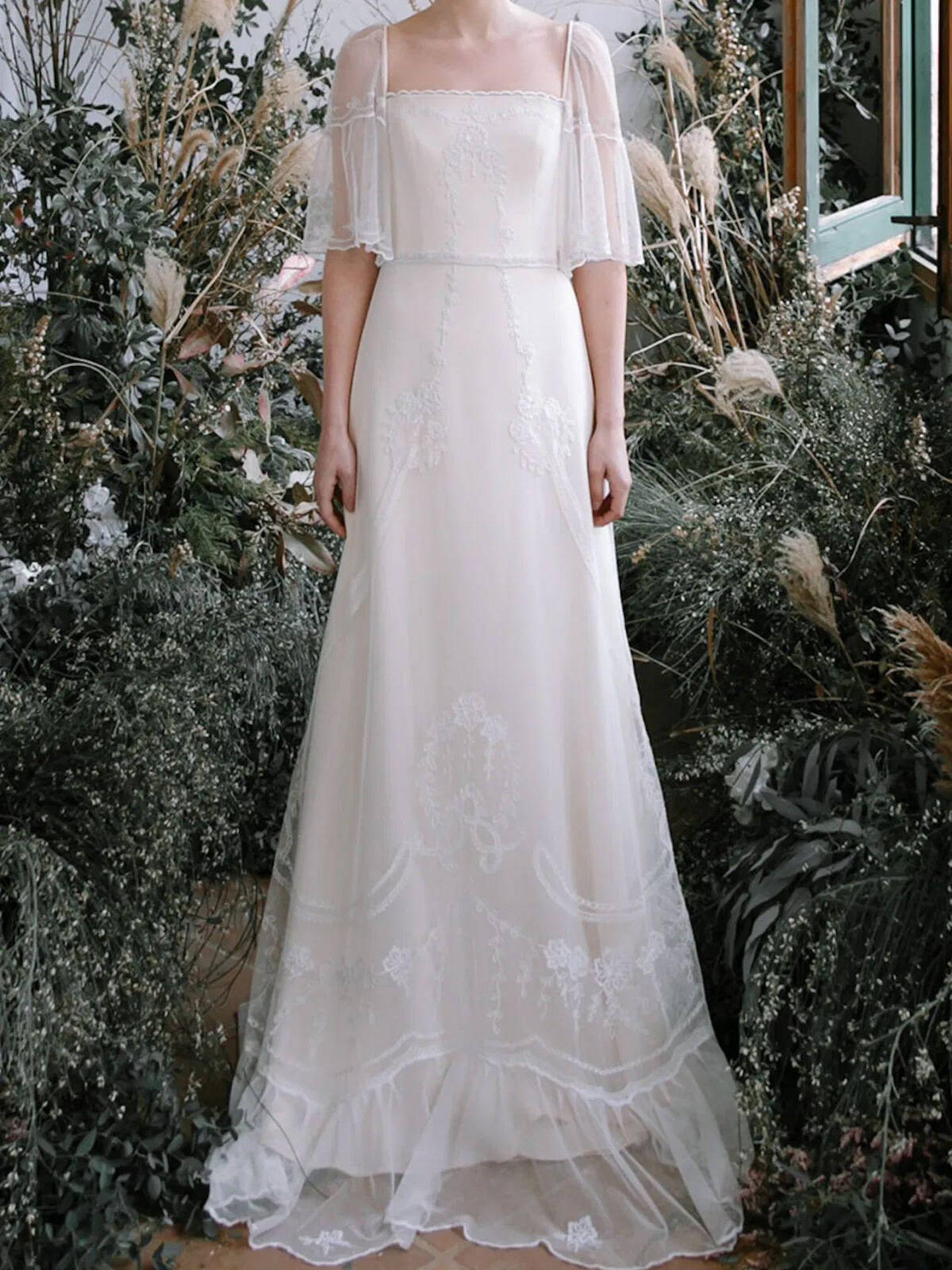 Los vestidos de novia de L'Arca son atemporales y femeninos. (Cortesía)