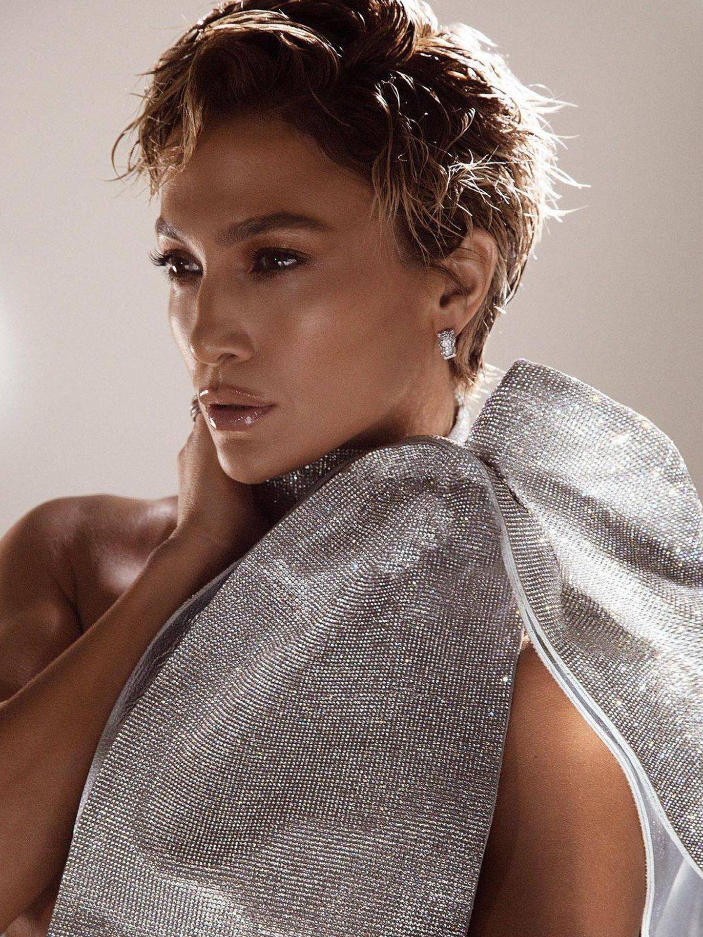Jennifer Lopez para 'Allure'. (Instagram @allure)