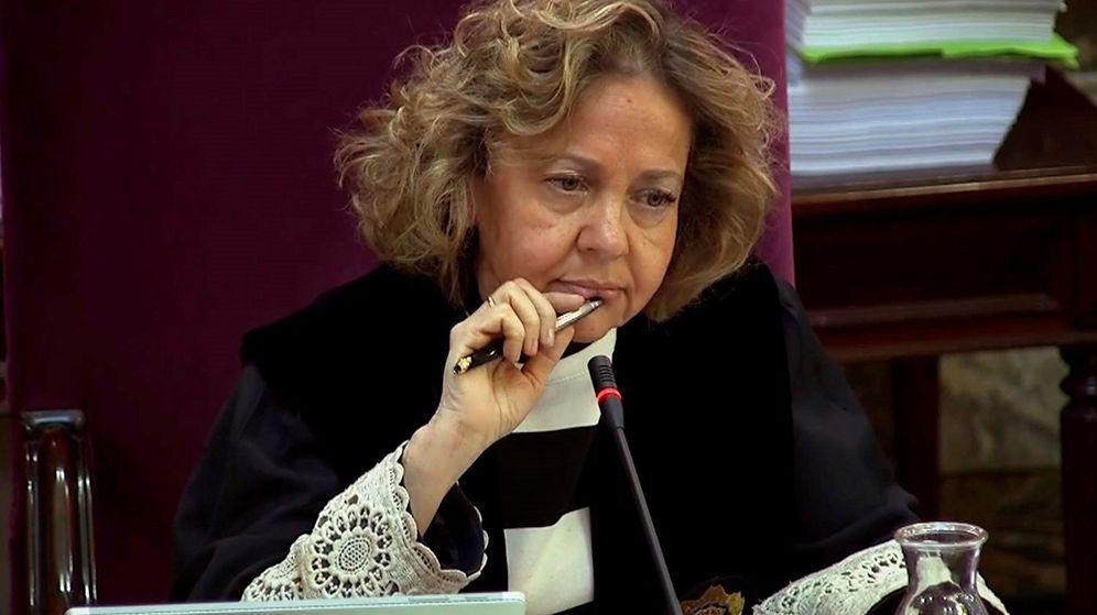Foto: La fiscal Consuelo Madrigal, en el juicio del 'procés'. (EFE)