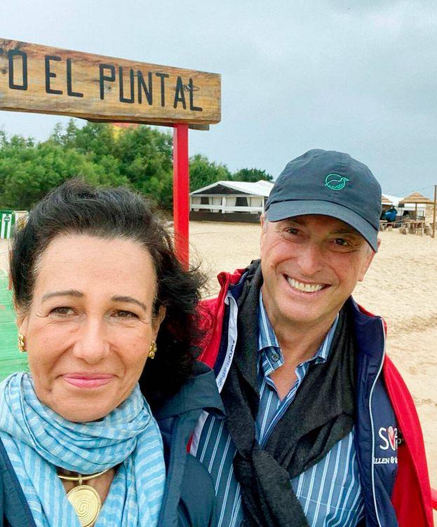 Foto: Ana Botín y Guillermo Morenés. (Instagram)
