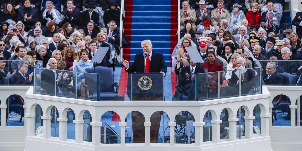 Foto: Donald Trump jura como presidente de Estados Unidos. (EFE)