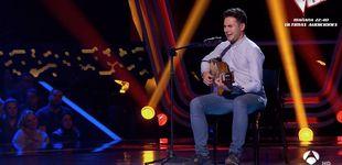 Post de Su madre representó a España en Eurovisión y él probó suerte en 'La Voz'