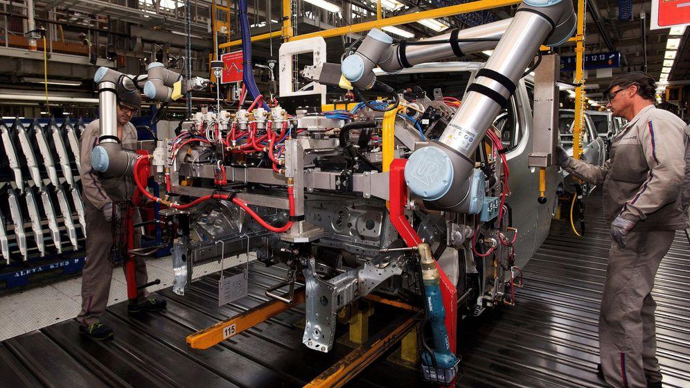 Foto: La producción industrial de Alemania sufre su mayor caída desde 2009