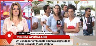 Post de Chaparro se encara con la hermana del hombre que apuñaló al policía en Huelva
