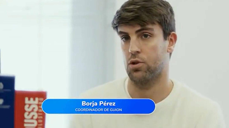Borja Pérez, coordinador de guion de 'Pasapalabra'. (Atresmedia)