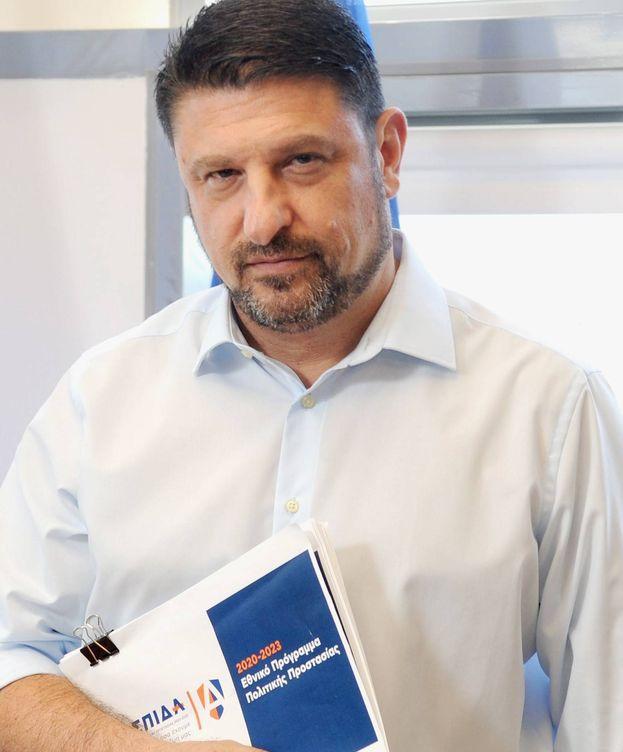 Foto: El viceministro de Protección Civil y Gestión de Crisis griego, Nikos Hardaliás. (Cedida)