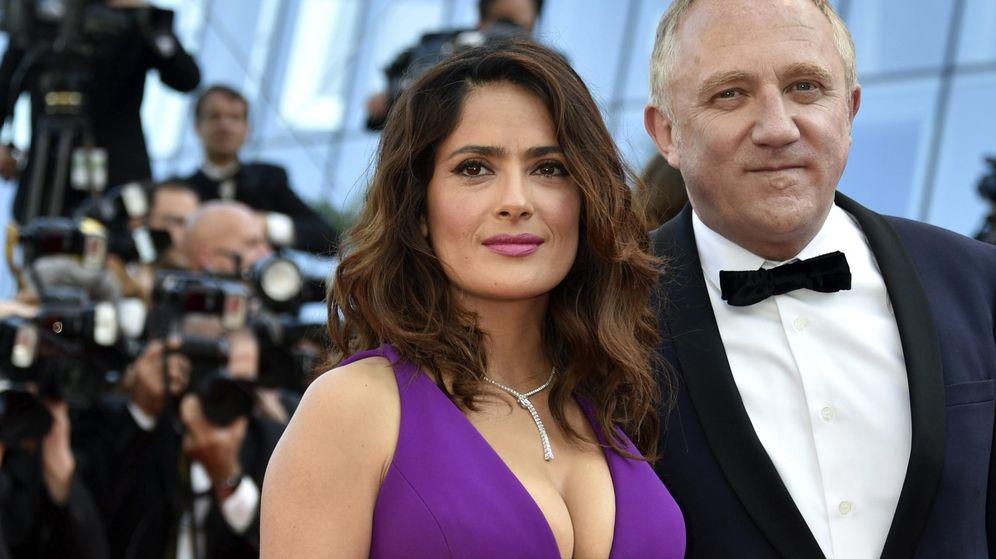 Foto: Salma Hayek y su marido, François-Henri Pinault, en el Festival de Cannes de 2015. (Efe/Franck Robichon)