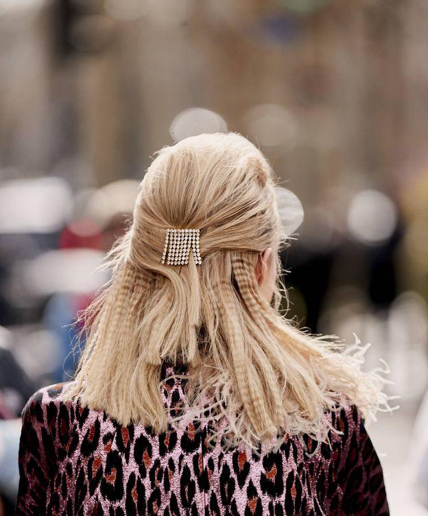 Foto: Peinados con 'crimped hair'. (Imaxtree)