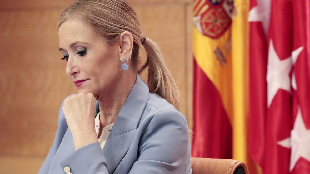 El 'Cifuentismo' en sus peores horas: si el máster la 'mata' se acabó el PP de Madrid
