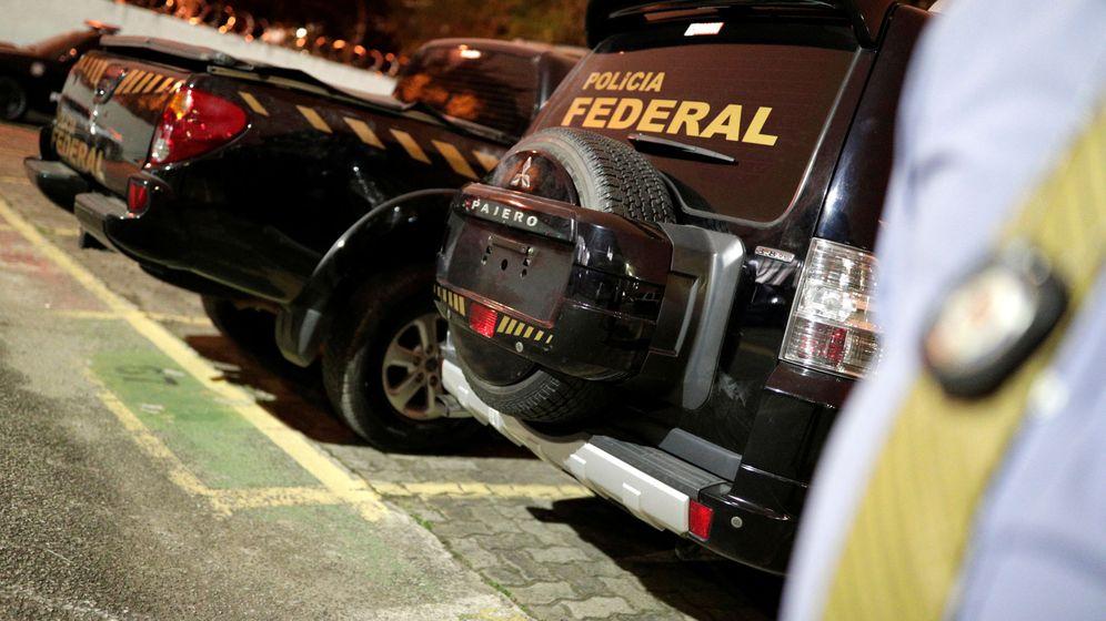 Foto: la Policía federal en el Aeropuerto de Guarulhos. (Reuters)