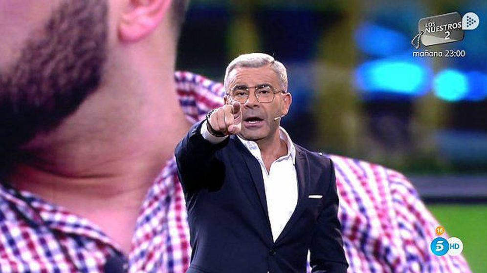 Foto: La bronca de Jorge Javier a Antonio Tejado en 'GH Dúo'. (Telecinco)