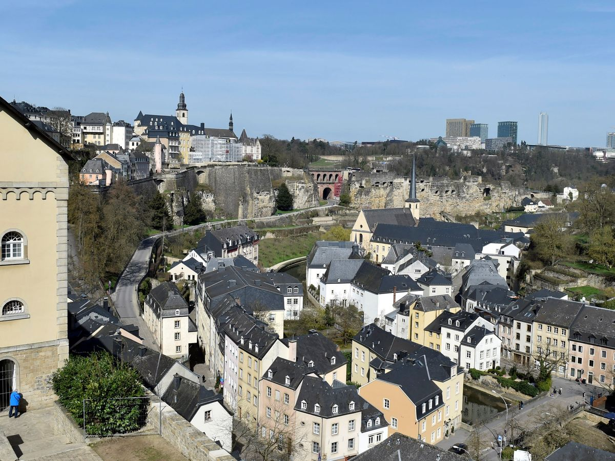 Foto: Vista de la ciudad de Luxemburgo. (Reuters)