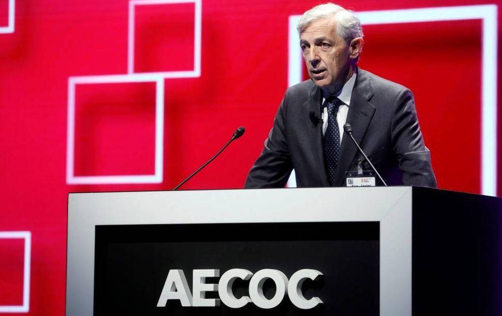 Foto: El presidente de la Asociación de Empresas del Gran Consumo (Aecoc), Javier Campo. (EFE)