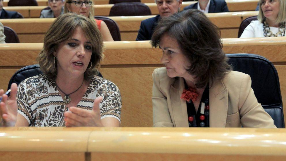 Calvo, sobre Delgado: Se va a defender ella y se va a mantener