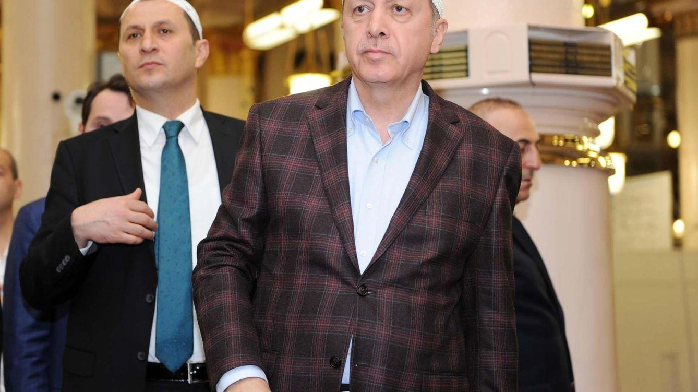 Foto: Erdogan durante una visita a Arabia Saudí (Reuters)