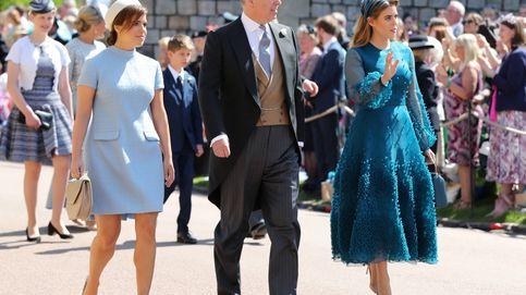 Eugenia y Beatriz de York apuestan por un look sencillo para la boda de su primo Harry