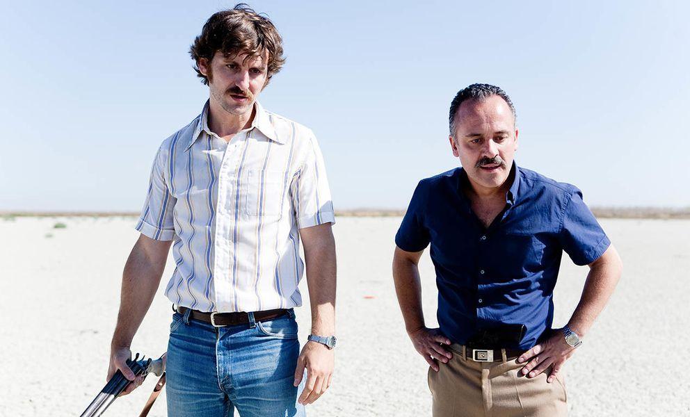 Foto: Raúl Arévalo y Javier Gutiérrez en 'La isla mínima', de Alberto Rodríguez.