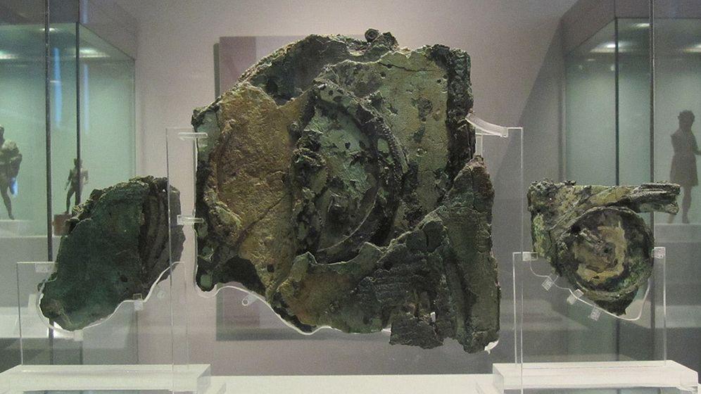 Foto: El mecanismo de Anticitera, un 'ordenador' de hace 2.000 años