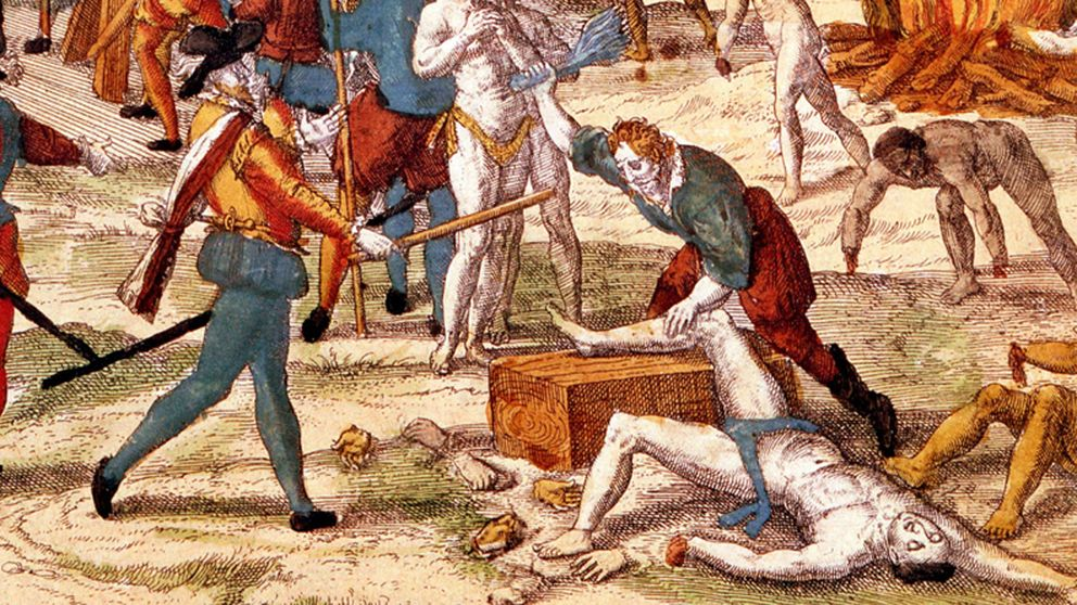 """""""Mutilaciones, violaciones"""", así fue la Conquista de América"""