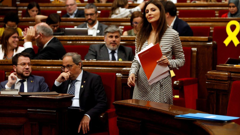 Cs presenta en el Parlament su moción de censura contra el irresponsable Torra