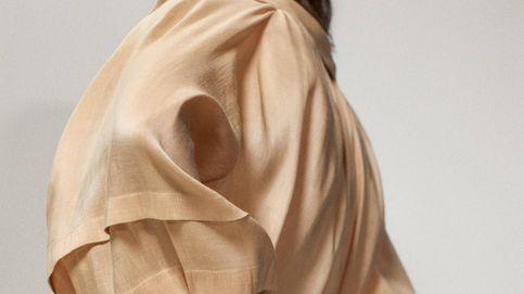 Esta camisa maxi de Massimo Dutti es tan elegante como llamativa