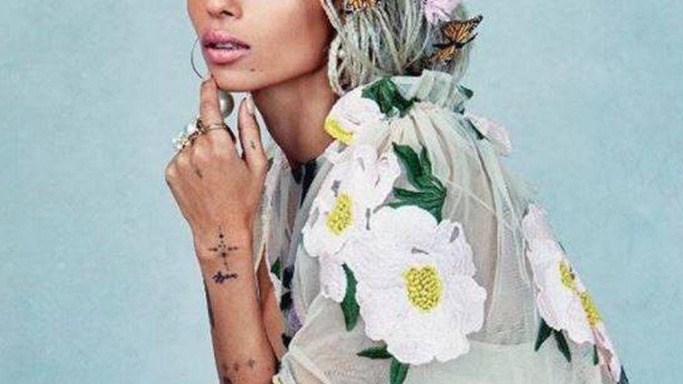 Zoë Kravitz se come el mundo con su nuevo trabajo para YSL Beauty
