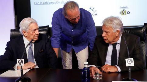 Estaban Mario y Bertín, pero solo habló Felipe