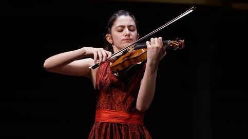 Los niños me pedían fotos: la española de 14 años que ha conquistado China con su violín