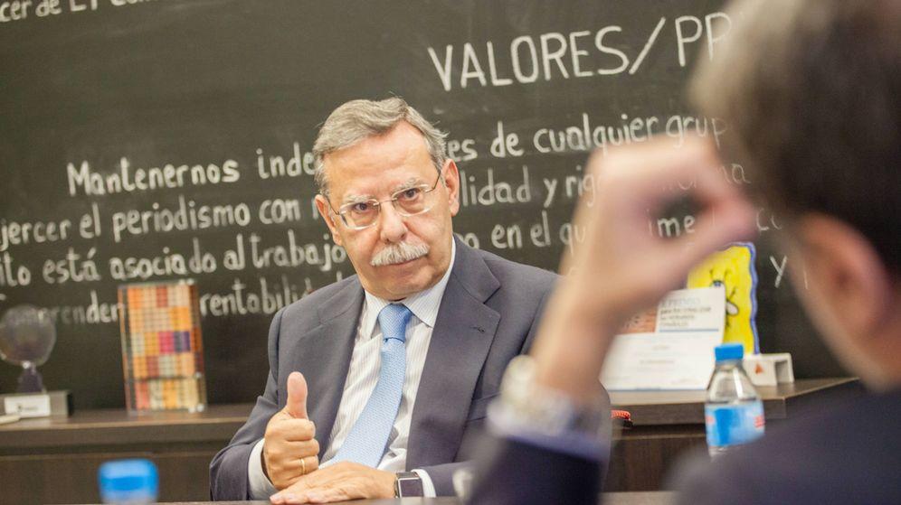 Foto: El presidente de Red Eléctrica de España, José Folgado. (Jorge Álvaro Manzano)