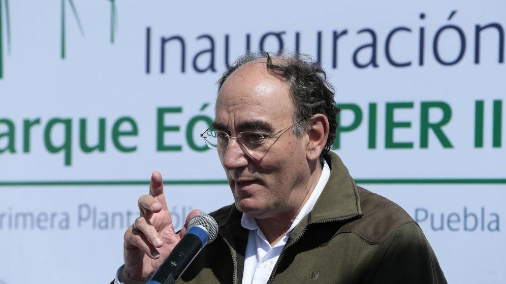 Foto: El presidente de Iberdrola Ignacio Sánchez Galán. (EFE)