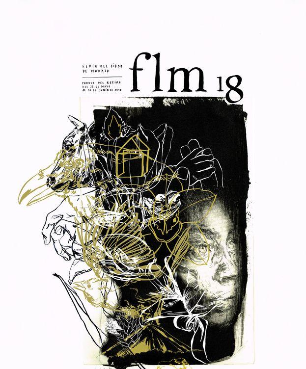 Foto: Cartel de la 77ª edición de la Feria del Libro de Madrid | Paula Bonet